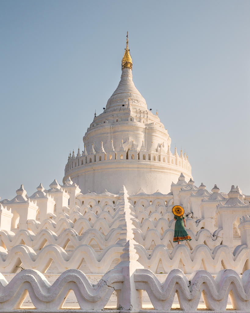 Mya Thein Tan Pagoda in Mingun, Myanmar