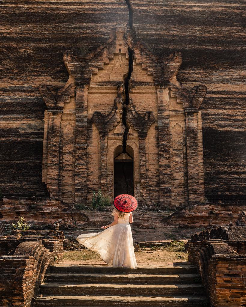 Mingun Pahtodawgyi in Mingun, Myanmar