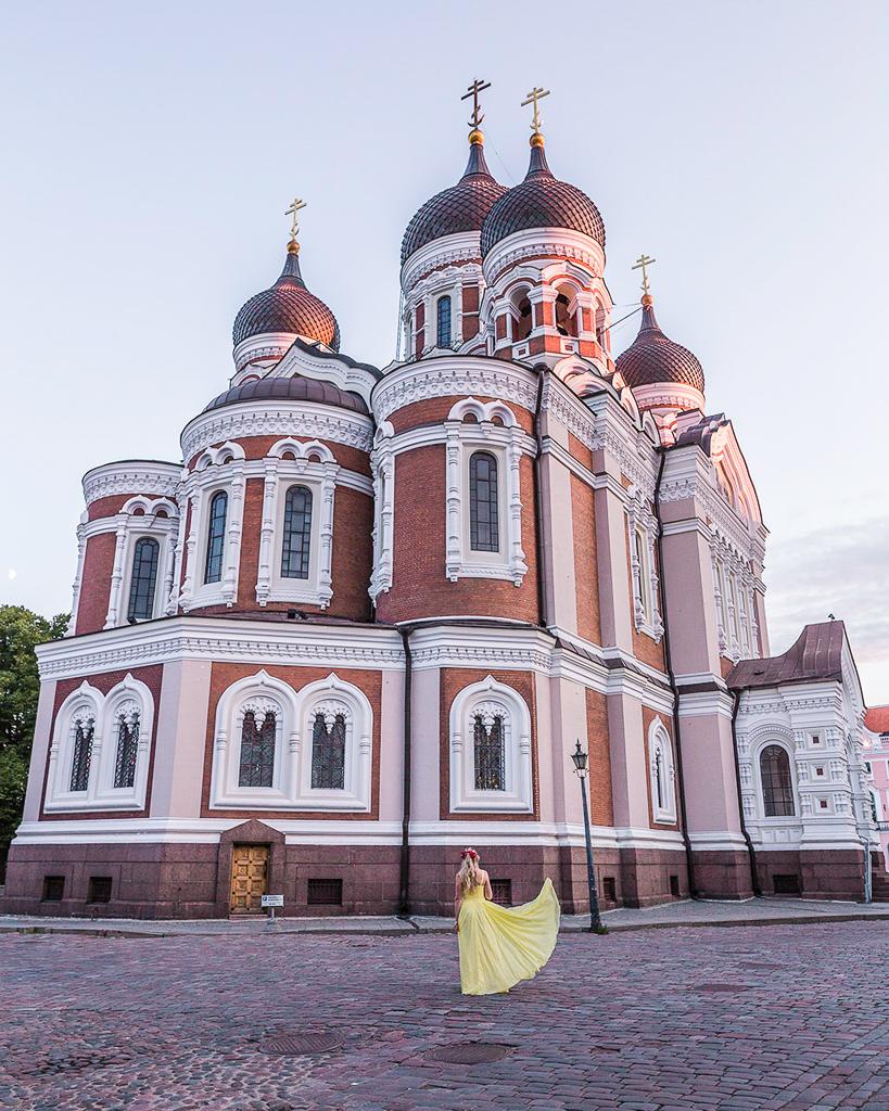 St. Alexander Nevsky Cathedral - side - Tallinn, Estonia.