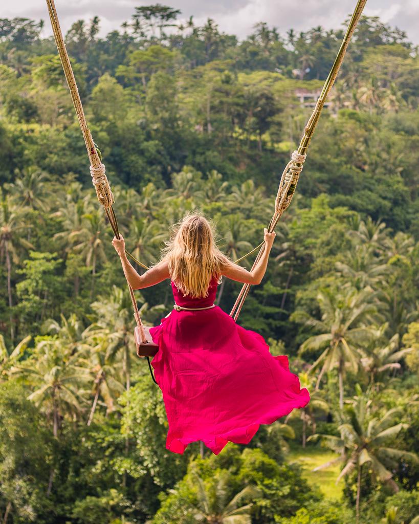 Bali Swing in Ubud, Bali