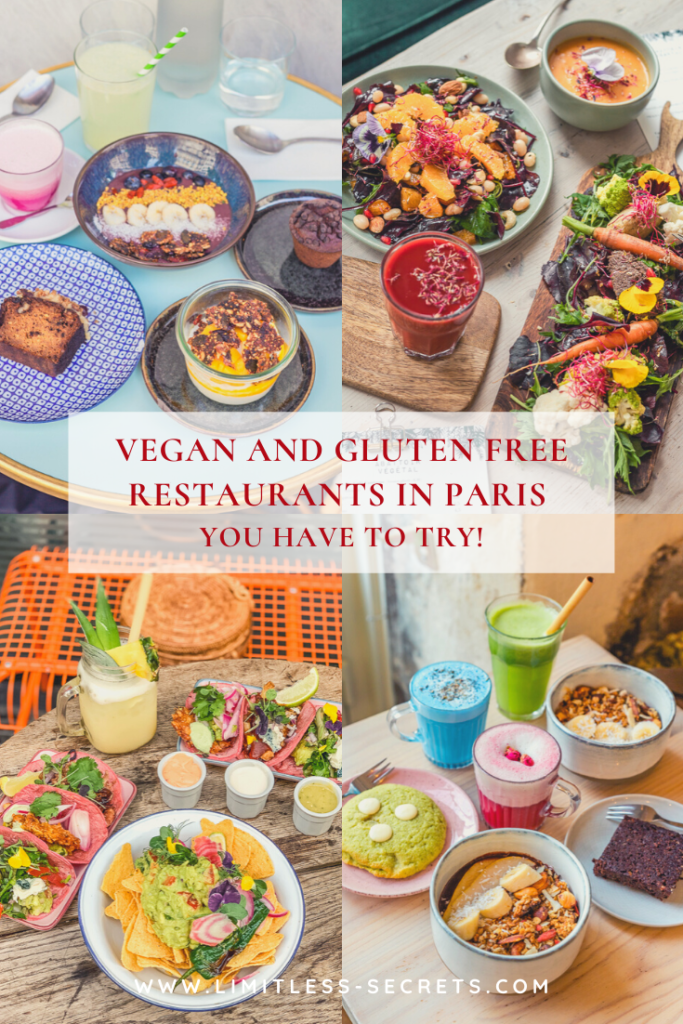 Vegan and Gluten Free restaurants in Paris