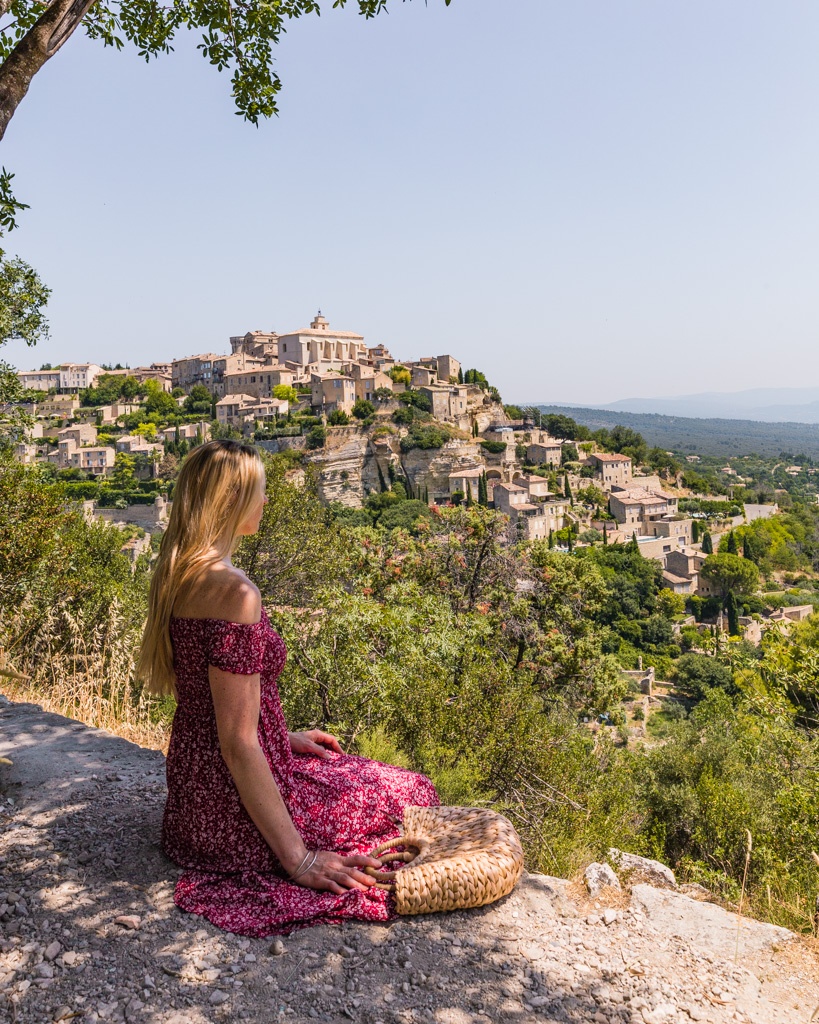 View of the village of Gordes in Provence, France