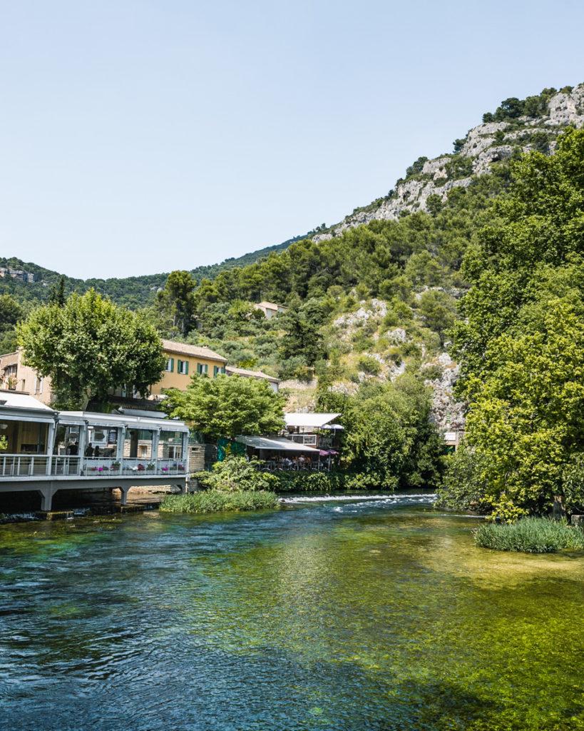 Fontaine-de-Vaucluse in Provence