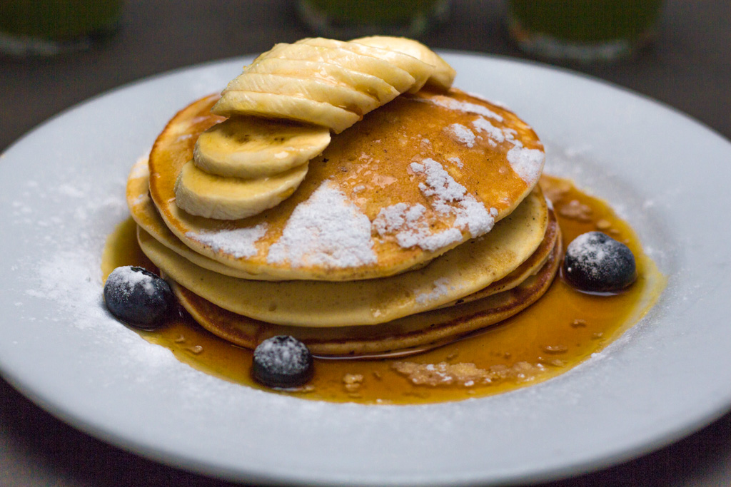 Pancakes at Bakers and Roasters. Best breakfast and brunch in Amsterdam.