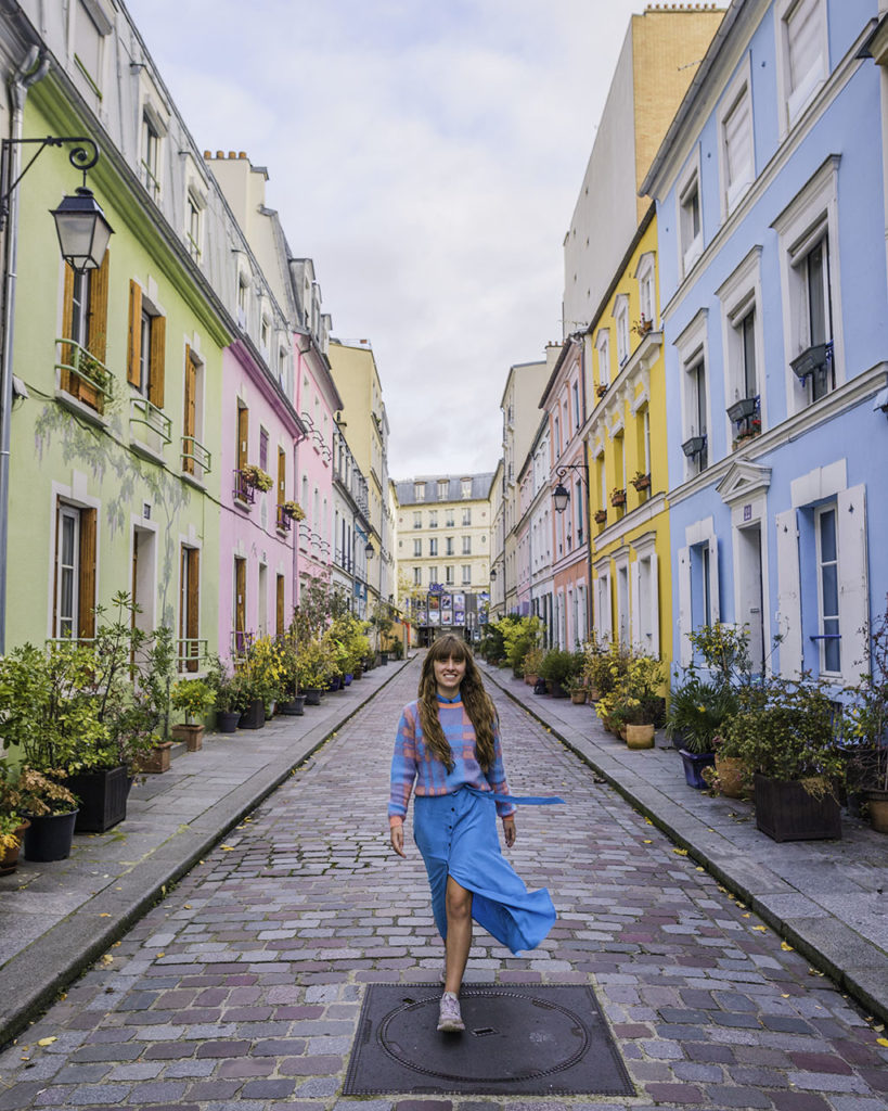 Photoshoot in rue Cremieux - Paris