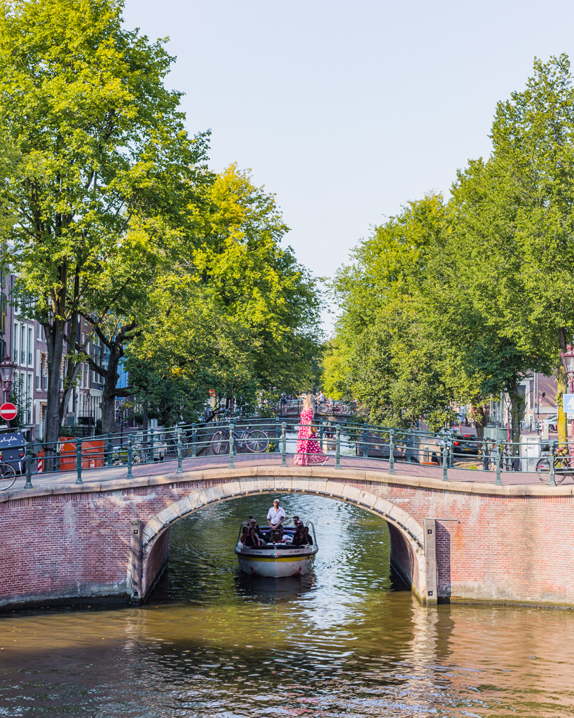 7 Bridges in Amsterdam - the Netherlands