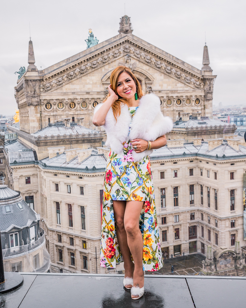 Photoshoot in Galeries Lafayette's rooftop - Paris