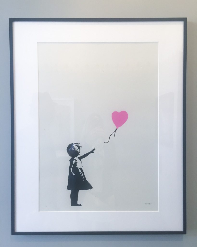 Banksy exhibition in Moco Museum in Amsterdam - The Netherlands
