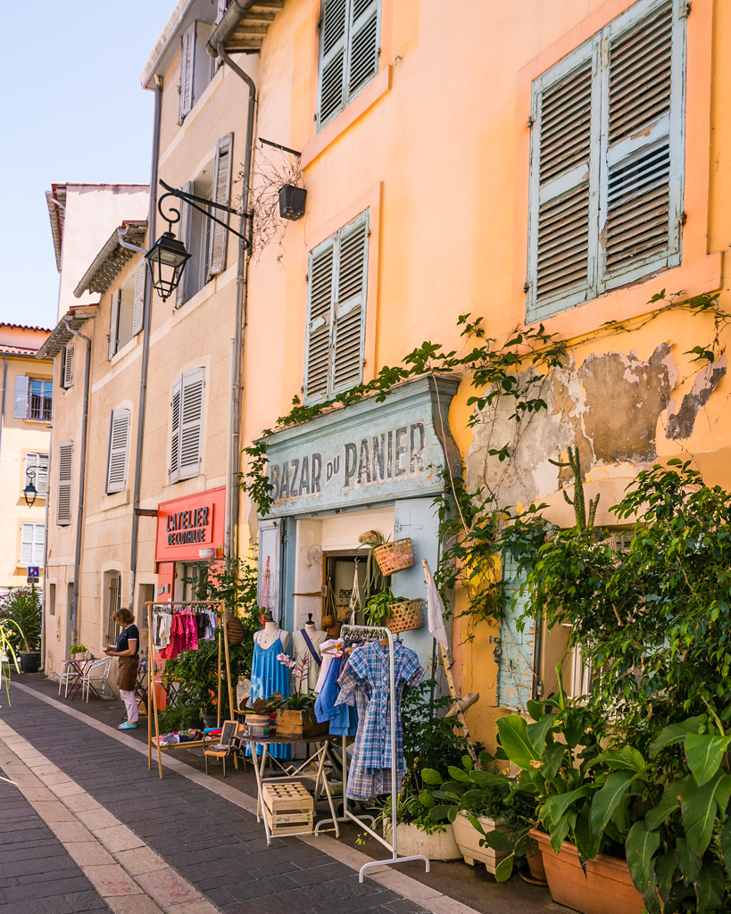Le Panier, the Old town of Marseille - French Riviera