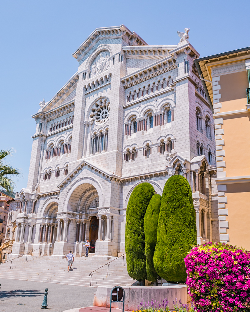 St Nicholas Cathedral in Monaco - French Riviera