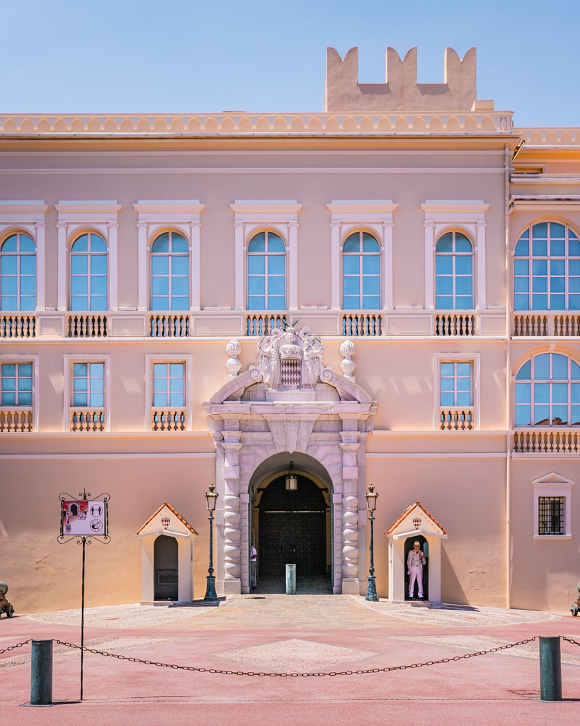 The Prince's Palace of Monaco - French Riviera