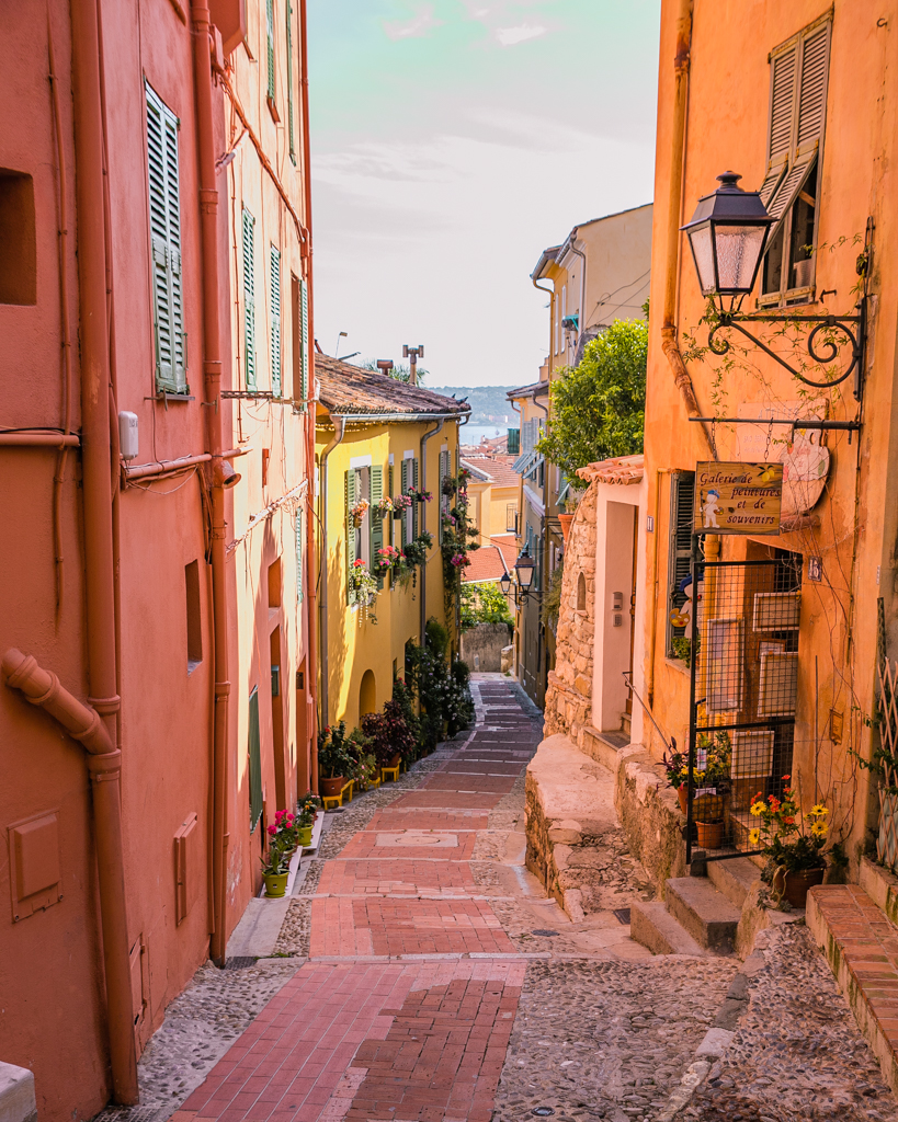 Streets of Menton - French Riviera