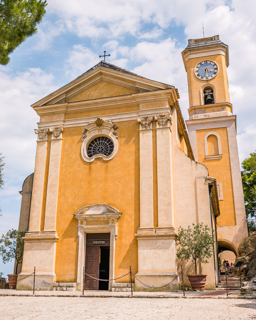 Parish church Notre Dame de l'Assomption in Eze - French Riviera