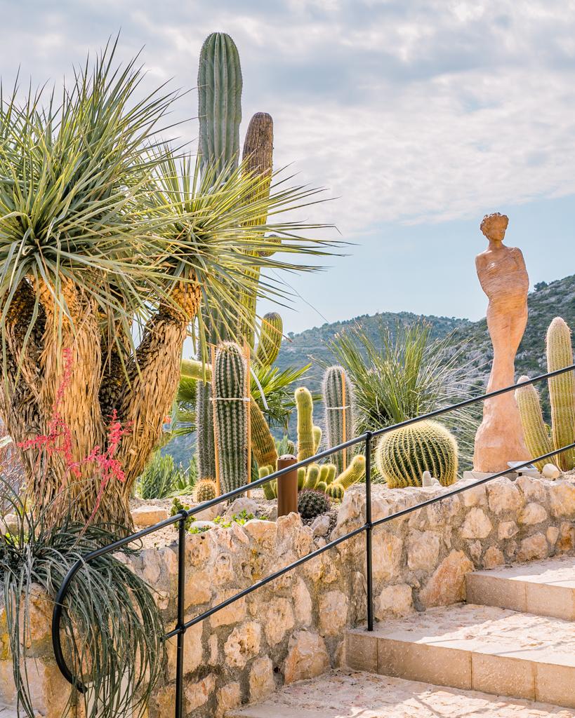 Botanical garden of Eze - French Riviera