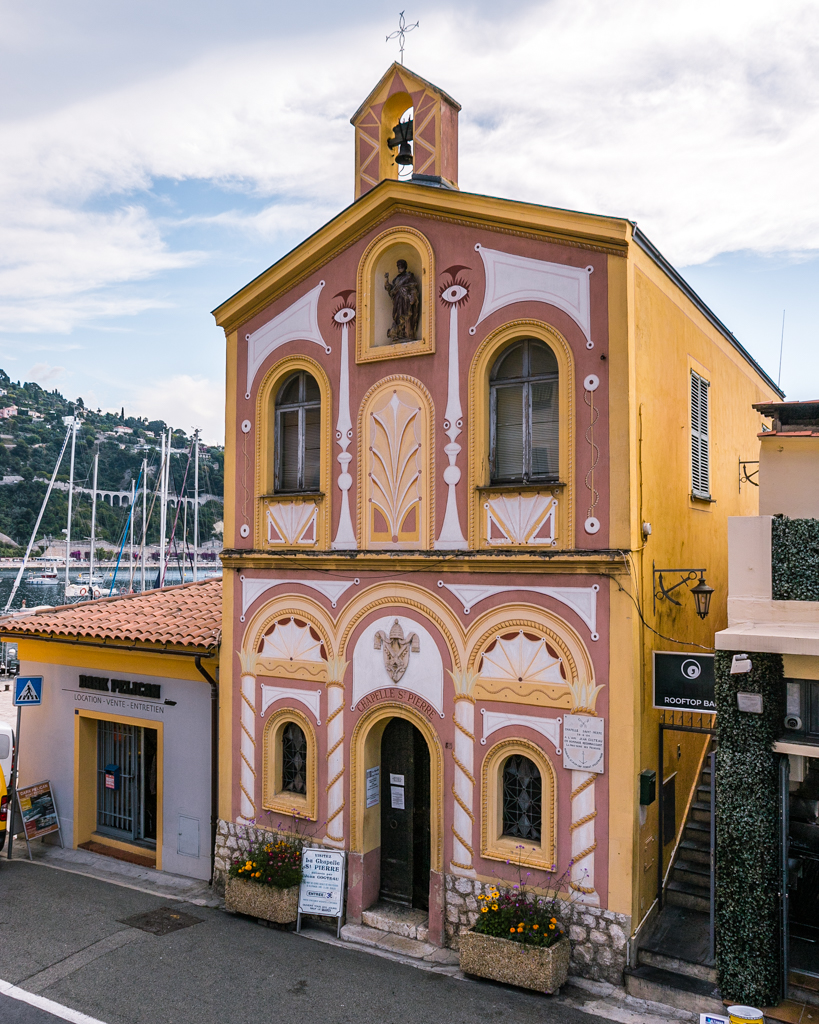 The Chapel of Saint Pierre in Villefranche-sur-Mer - French Riviera