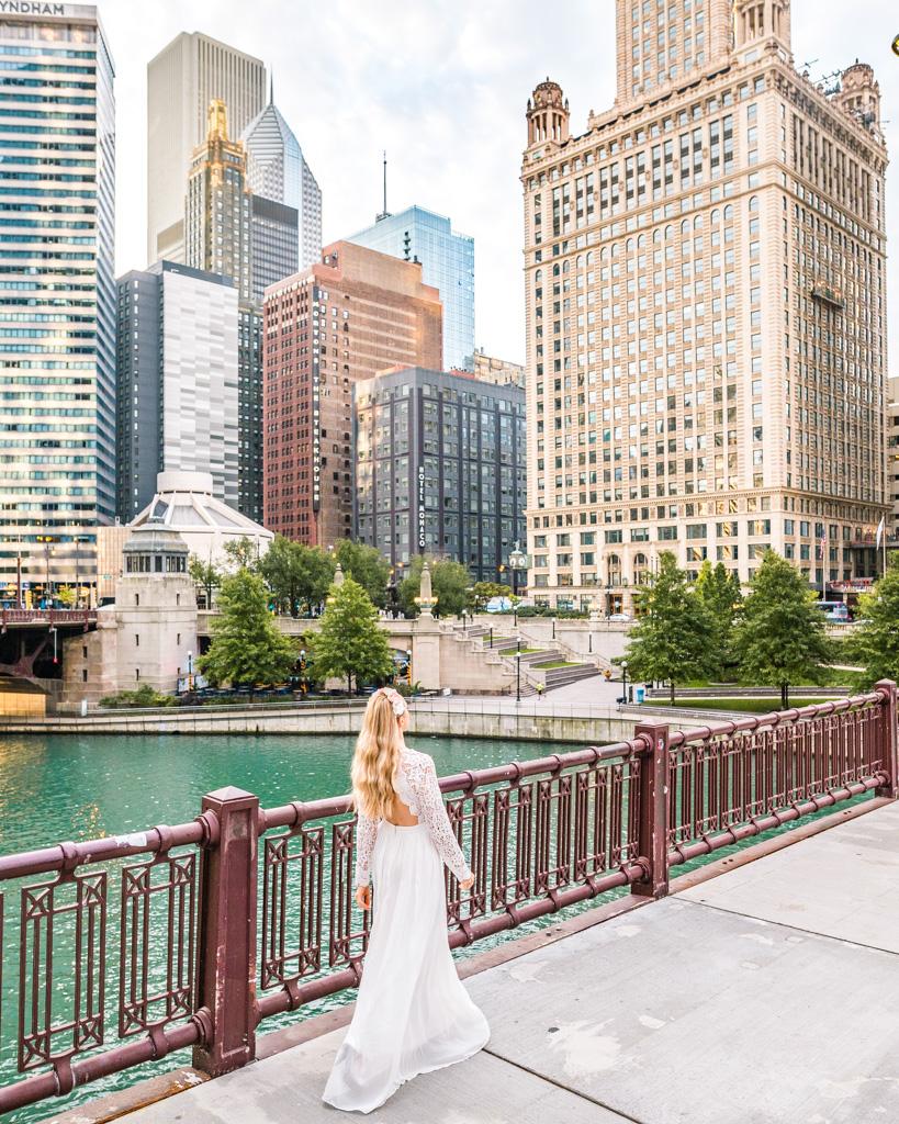 N. State Street Bridge in Chicago