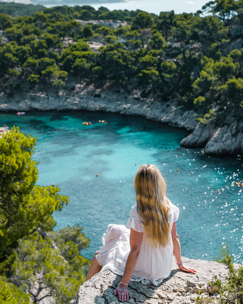 Calanque de Port-Pin - French Riviera