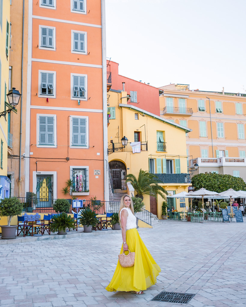 Place Fontana in Menton - French Riviera