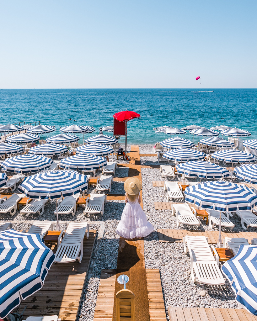 Beach in Nice - French Riviera