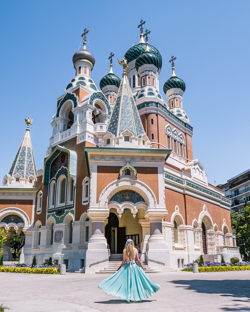 St Nicholas Russian Orthodox Cathedral n Nice - French Riviera