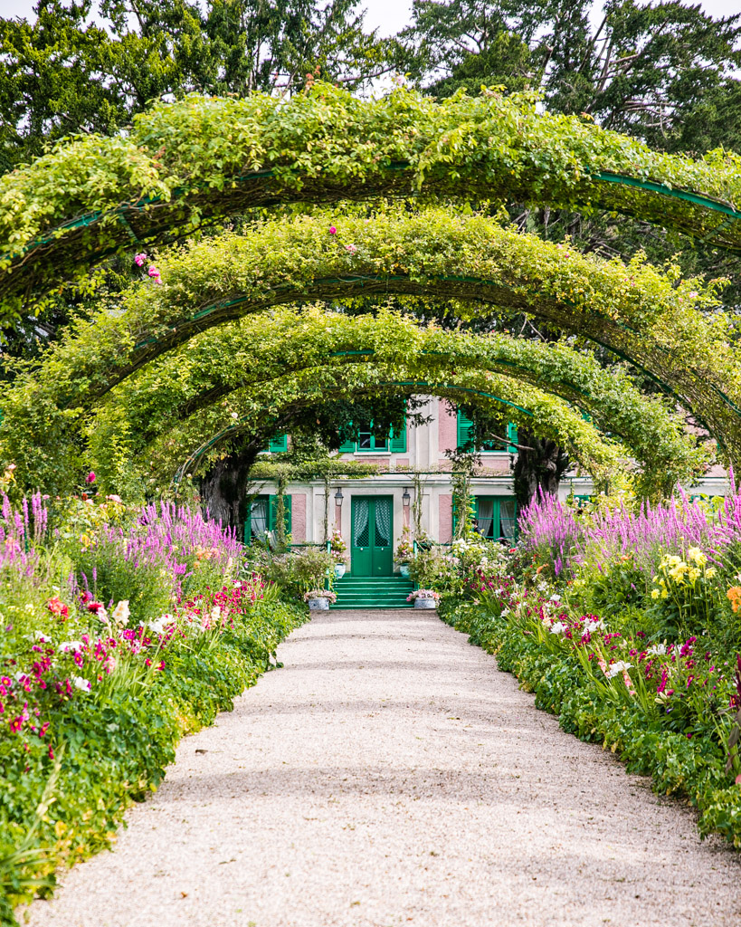 The Clos Normand in Monet's garden in Giverny