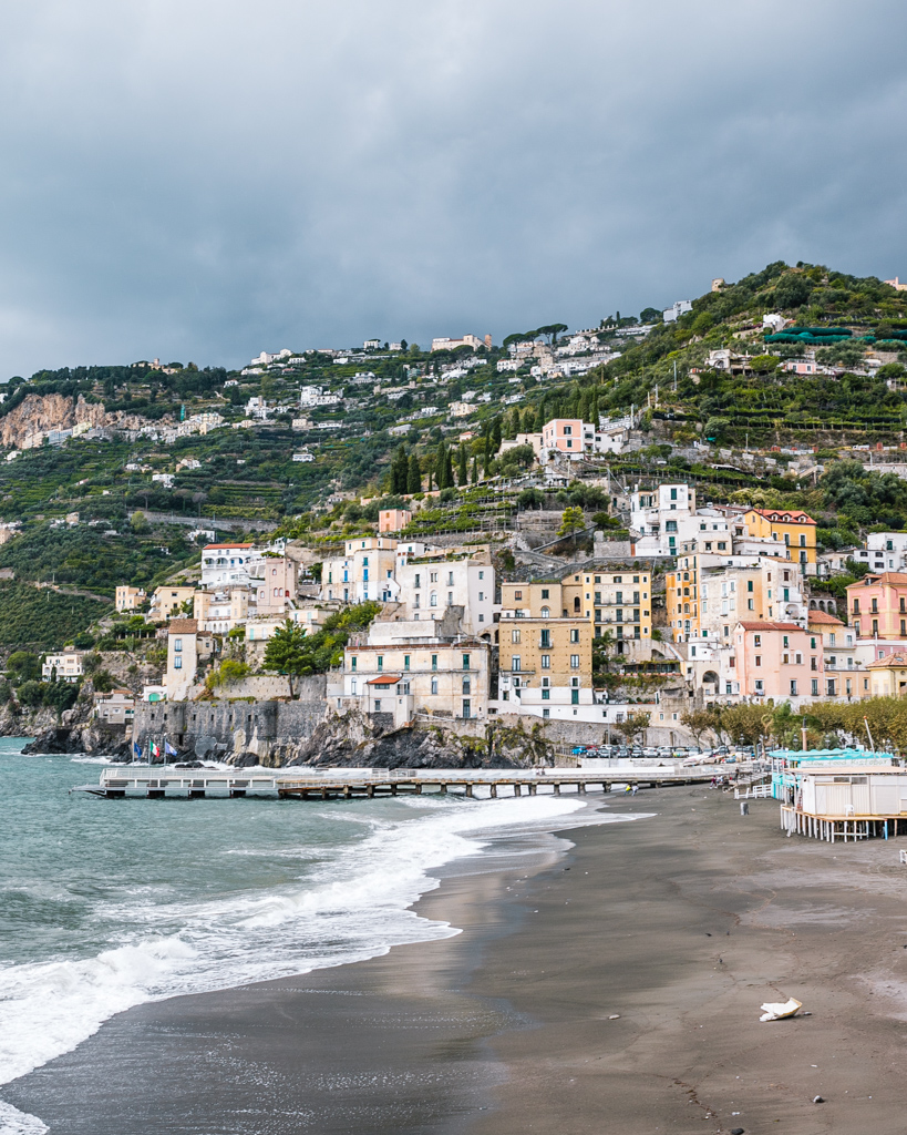 Beach of Minori - Amalfi Coast