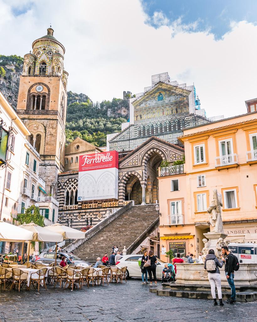 Piazza del Duomo in Amalfi - Amalfi Coast