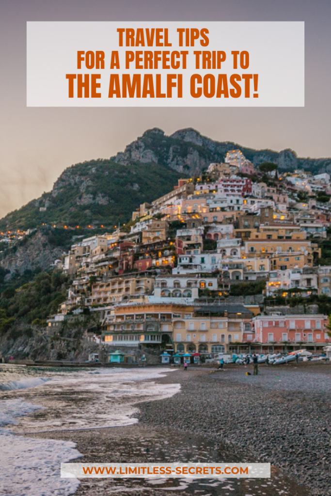 The Amalfi Coast is one of the most famous and stunning places of Italy! Pristine turquoise waters meeting with mountains, charming colorful villages and breathtaking views: so photogenic! Here is an indispensable travel guide with all the things you need to know before your trip to the Amalfi Coast!