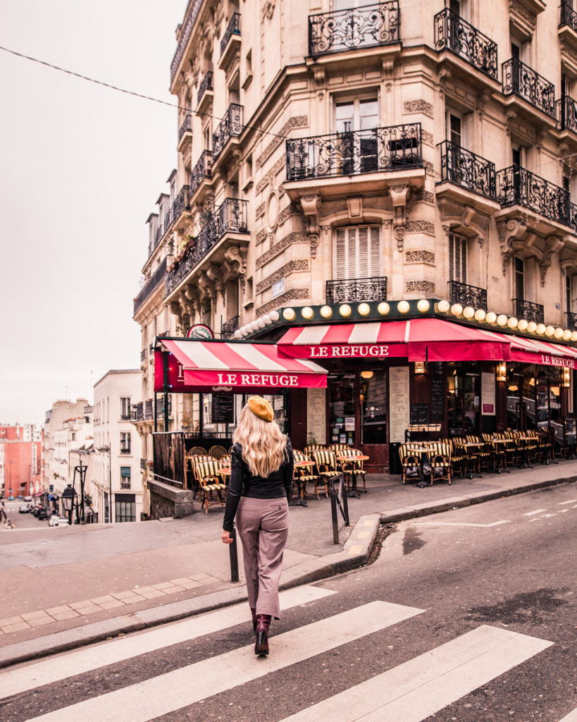 Le Refuge in Montmartre - Paris