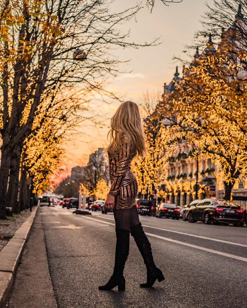 Avenue Montaigne - Christmas in Paris
