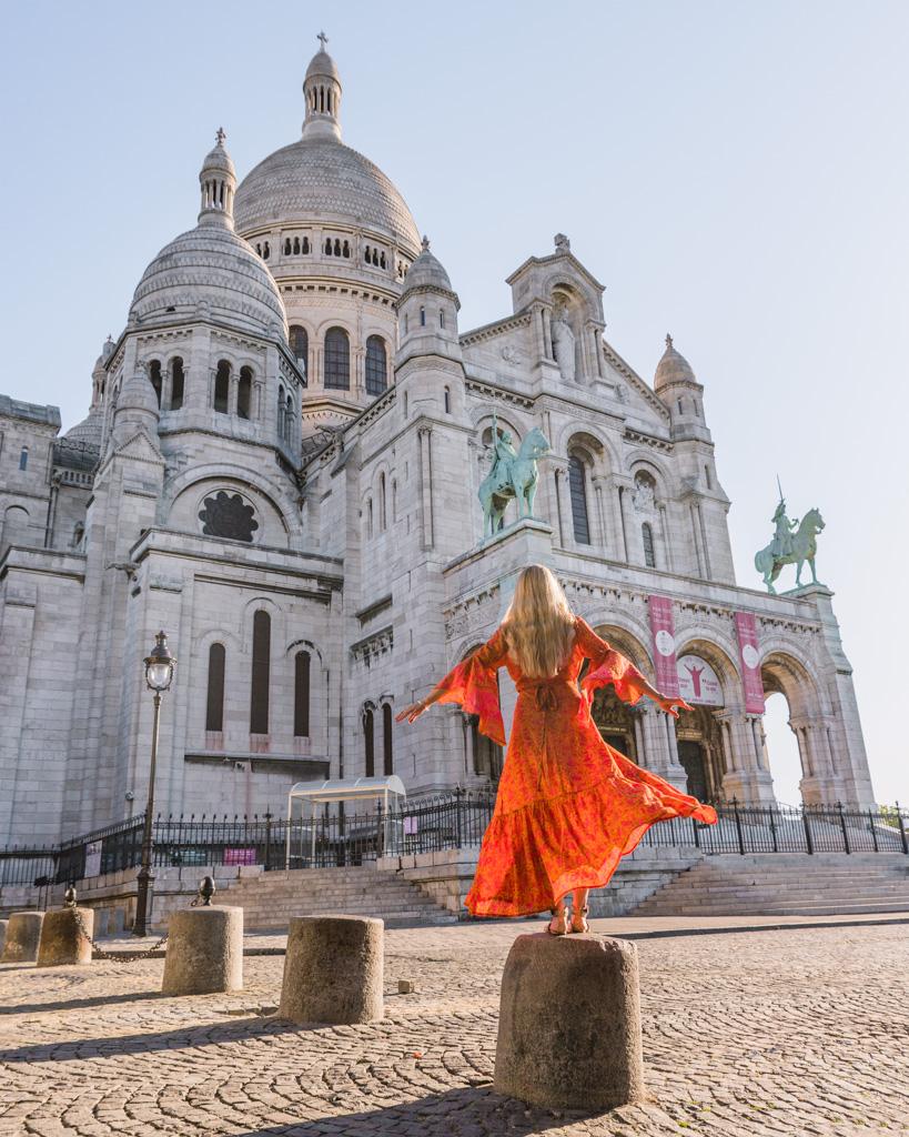 The Sacré-Coeur Basilica in Montmartre - Paris