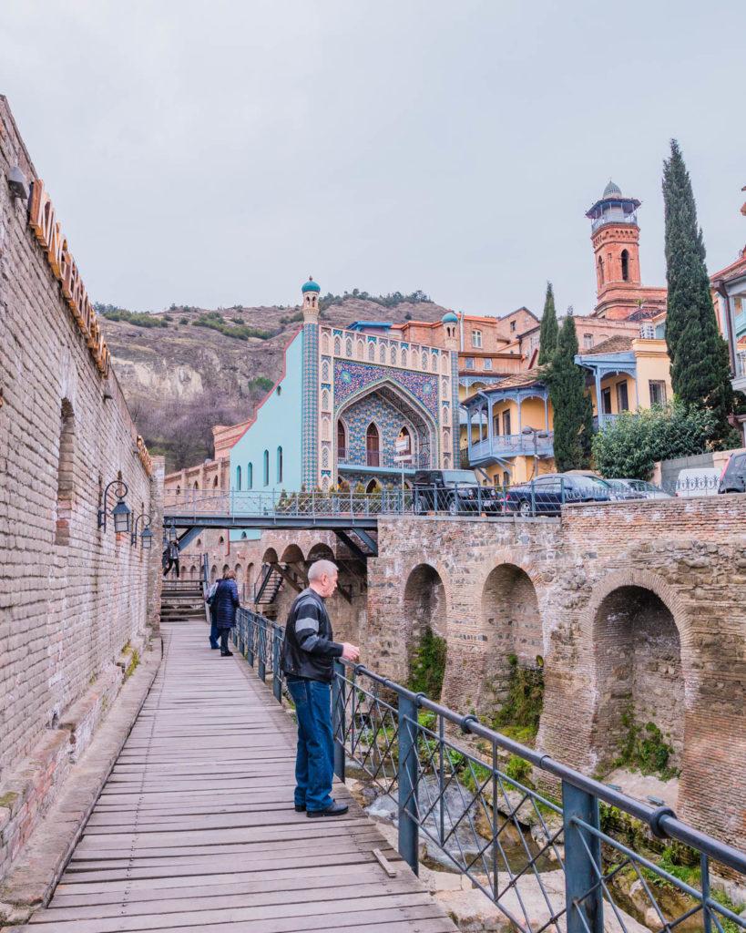 District of Abanotubani in Tbilisi - Georgia