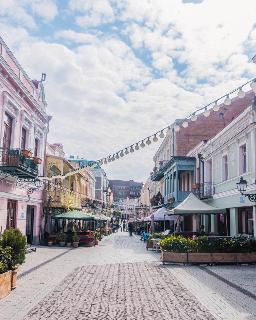 New Tiflis, Street of Tbilisi - Georgia