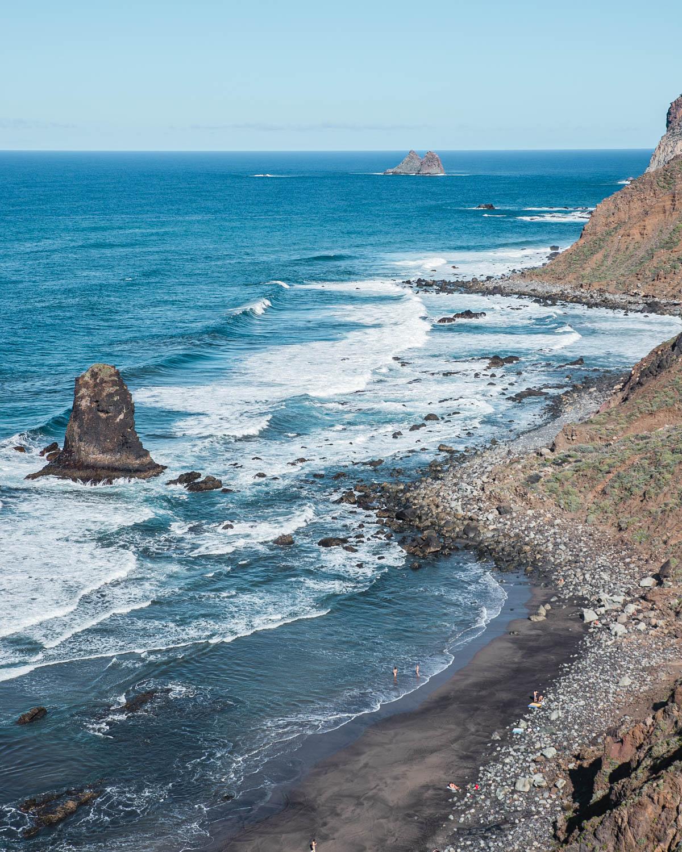 Playa de Benijo in Tenerife - Canary Islands