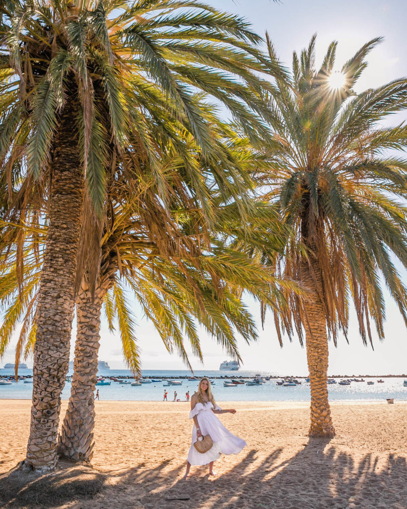 Playa de Las Teresitas in Tenerife - Canary Islands