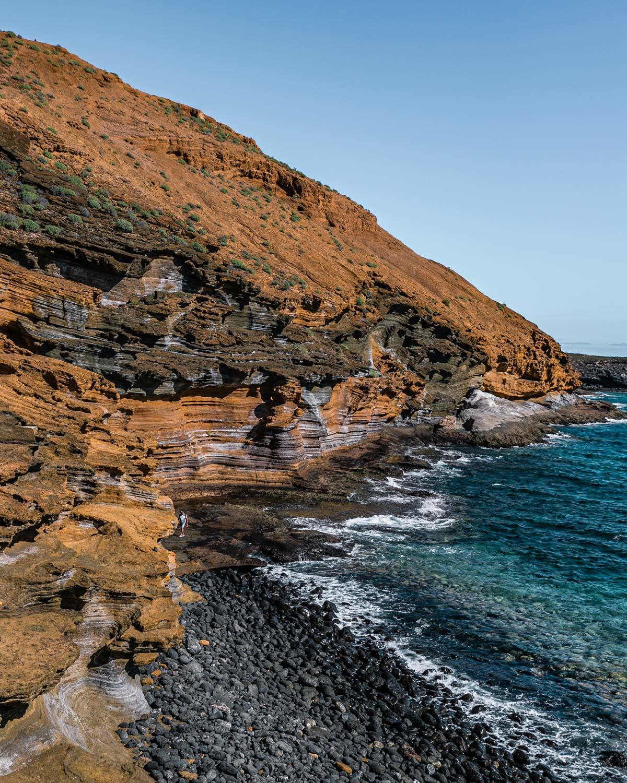 Playa de Montaña Amarilla in Tenerife - Canary Islands