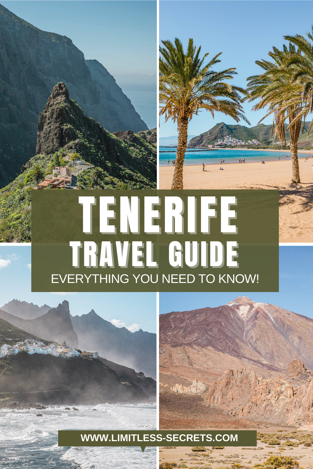 Tenerife in the Canary Islands is an amazing destination that you will love to discover! In this indispensable Tenerife Travel Guide I am answering the most frequent questions you might have about Tenerife. Get to know when to go to Tenerife, how to reach Tenerife, how long you should stay in Tenerife, what are the best things to do in Tenerife, where to stay in Tenerife and much more! Tenerife trip | Tenerife photography | Everything you need to know about Tenerife | Activities in Tenerife