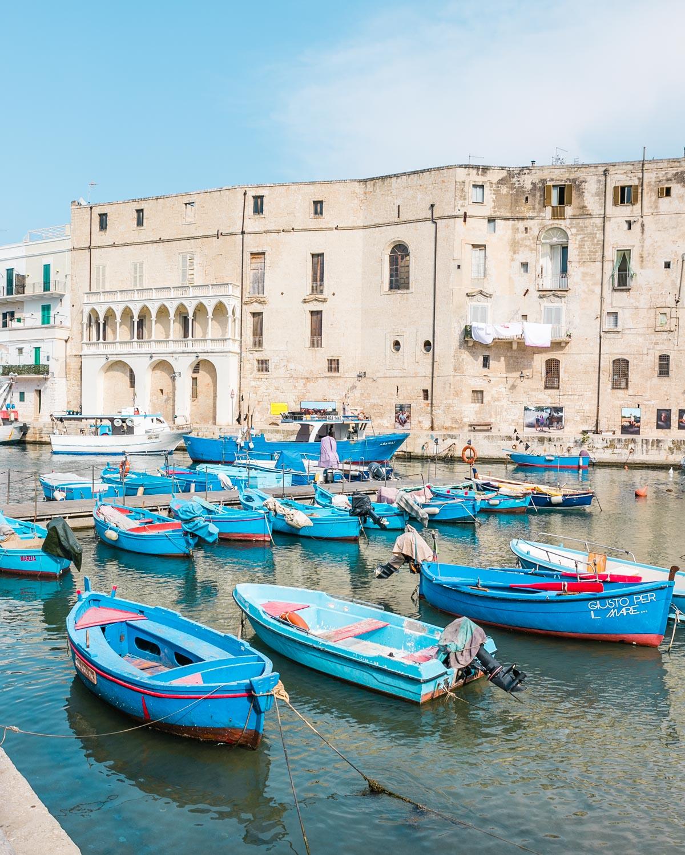 Porto Vecchio, the Old Harbor in Monopoli - Puglia