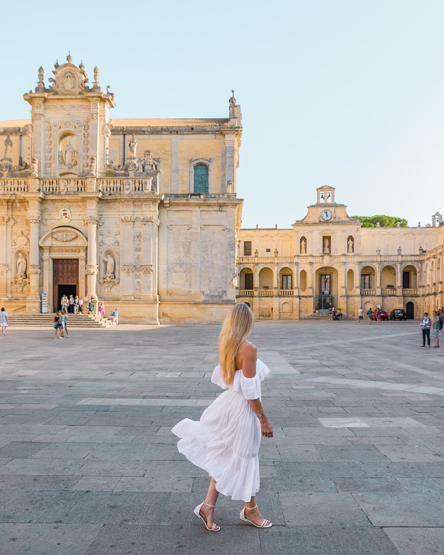 Piazza del Duomo in Lecce - Puglia