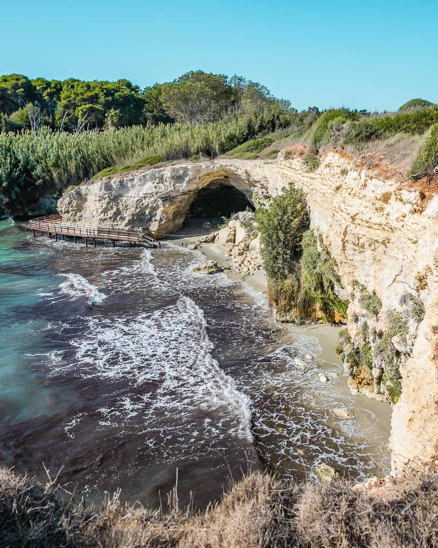 Baia del Mulino d'Acqua near Otranto - Puglia