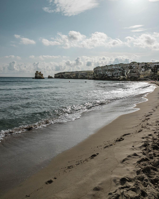 Beach in Torre dell'Orso - Spiaggia di Torre dell'Orso in Puglia