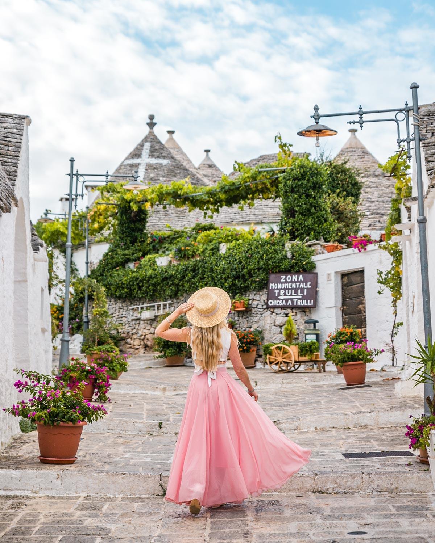Alberobello in Puglia
