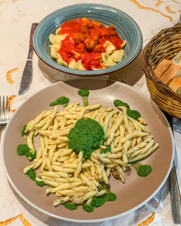 Pasta at La Braceria di De Pace Consiglia - Restaurant in Locorotondo in Puglia