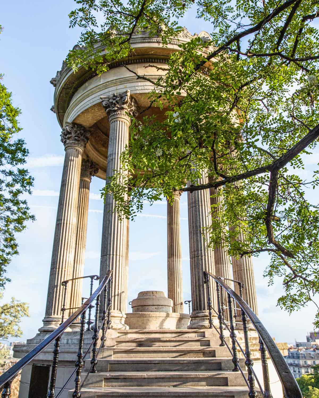 Temple de la Sibylle - Parc des Buttes Chaumont in Paris