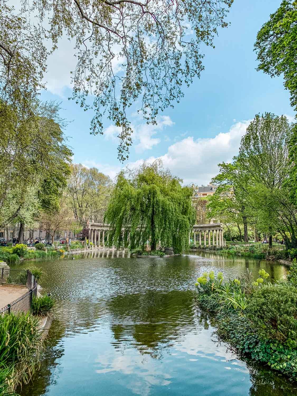 Parc Monceau in Paris