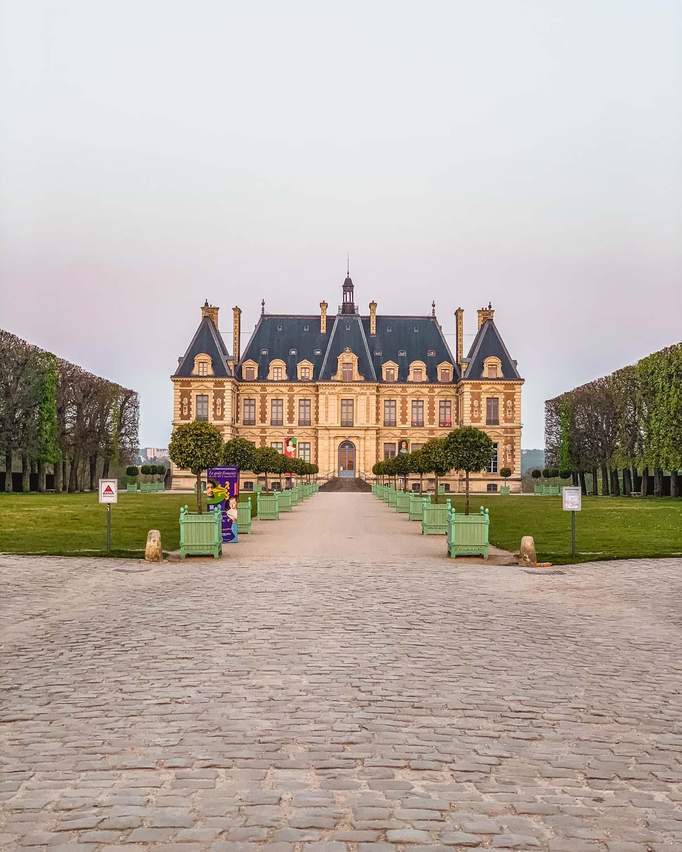 Château de Sceaux in the Parc de Sceaux - near Paris