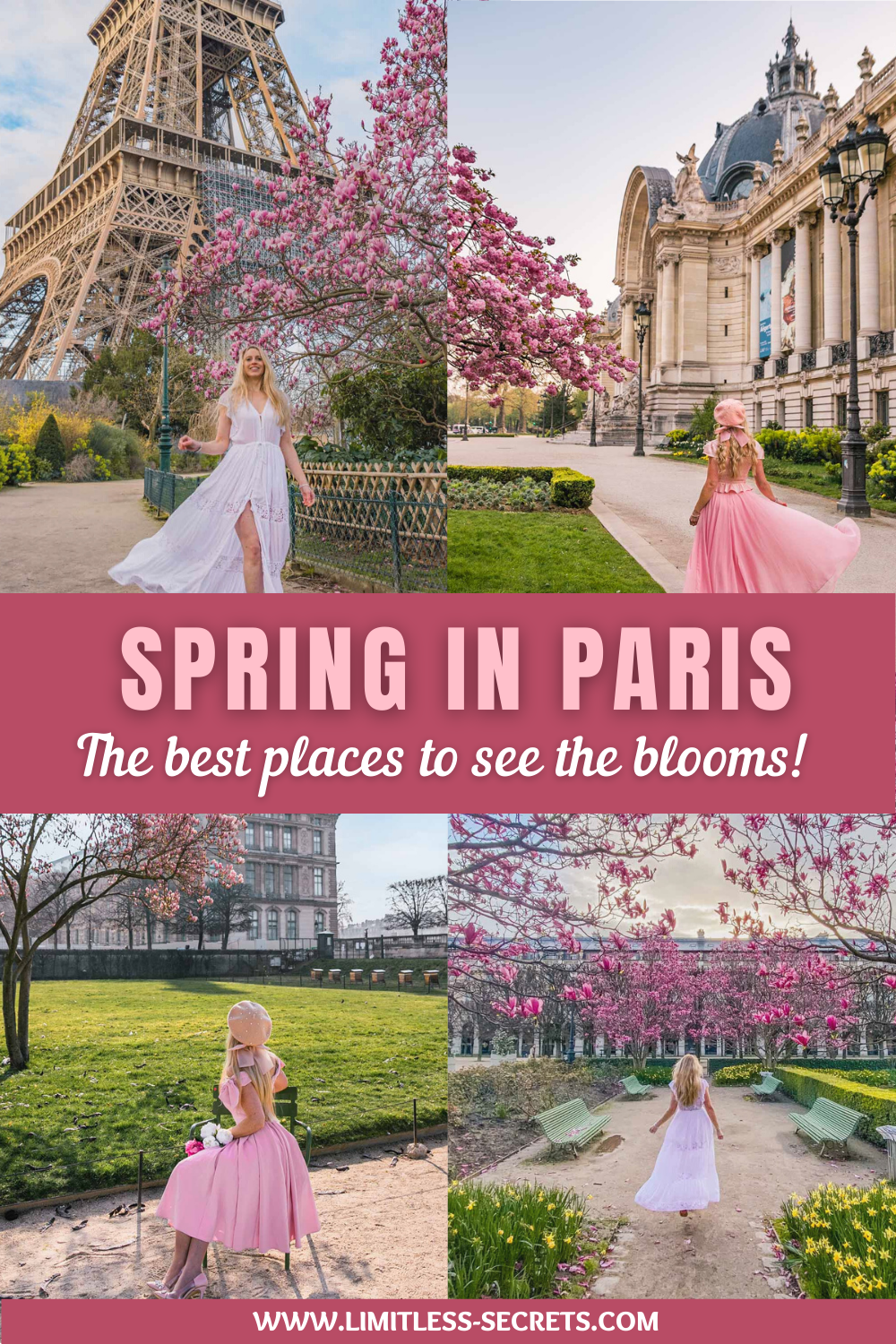 Paris in spring is a dream! If you are wondering where the best places to see blooms in Paris are, I got you covered! With this ultimate guide about spring in Paris you will know where to enjoy and capture all the blossoms in Paris during the springtime! You will also get all my local tips for the most instagrammable places in Paris in spring!